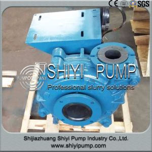 Natural Rubber Lined Heavy Duty Slurry Pump pictures & photos
