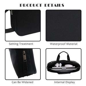 Customized Nylon Laptop Bag/13-14 Inch (Black, Blue, Grey, Matte Grey) Laptop Bag, Zikee Water Resistant 360° Shock-Proof Protective Multifu pictures & photos