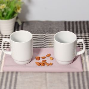 New Arrival Ceramic Stackable Mug for Coffee Shop pictures & photos