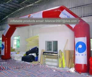 Big Inflatable Advertising Entrance Gate Arch pictures & photos