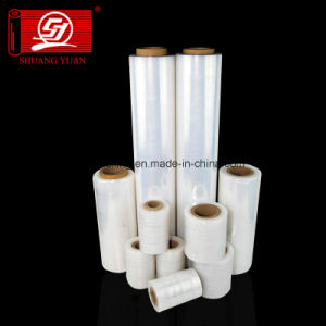 Hingh Quality with Lower Price LLDPE Irregular Stretch Film Packin pictures & photos