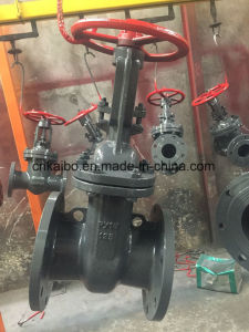 GOST Russia Standard Gate Valve Cast Steel Wcb Py16 125 pictures & photos