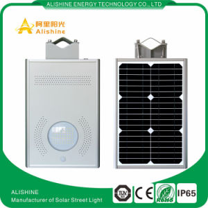 Manufacturer Supply 8W Solar Street/ Garden/Yard LED Light with PIR Sensor 3 Years Warranty pictures & photos