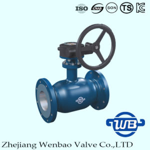 GOST Fully Welding Flanged Ball Valve with Hexagonal Screw pictures & photos