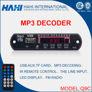 Newest Audio PCBA MP3 Decoder Board pictures & photos