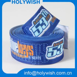 Heat Transfer White Webbing Ribbon Tape with Polyester Material pictures & photos