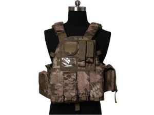 Airsoft 1000D Molle Tactical Combat Vest pictures & photos