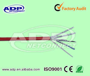 RoHS, Ce Approved Single Pair Shield Uftp/Fftp CAT6A LAN Cable pictures & photos