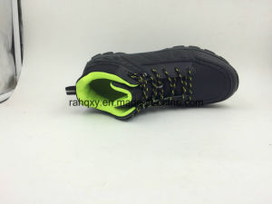 Genuine Lerather Toe Protection Wearable and Light Safety Shoes (16051) pictures & photos
