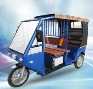 Passenger Electric Auto Rickshaw Three Wheeler Tricycle Electric Vehicle pictures & photos