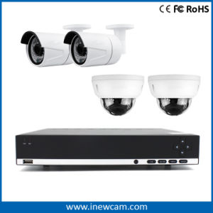 4CH 4MP Real Time Remote Monitor Network P2p Poe NVR pictures & photos