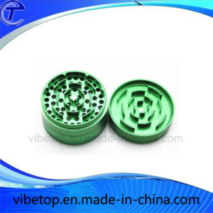 High Quality Round Shaped Aluminum Herb Grinder pictures & photos