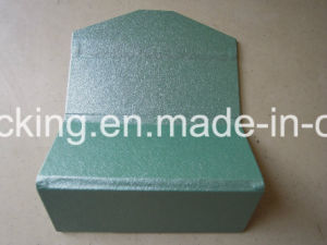 Fashion PU Leather Wrapped Triangle Folding Sunglasses Handmade Case (KS4) pictures & photos