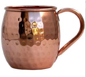 Solid Copper Moscow Mule Mug, Steel Copper Mug, Copper Mug Manufacturer pictures & photos