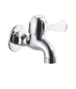 Chrome-Plated Copper Mop Pool Faucet pictures & photos