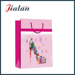 Fashion Lady′s High-Heeled Sandal Shopping Carrier Gift Paper Bag pictures & photos