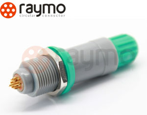Alternative Pag 7 Pin Medical Plastic Push Pull Circular Connector pictures & photos