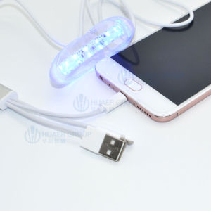 USB iPhone Silicone Teeth Whitening Light with 16 Mini LED Lights pictures & photos