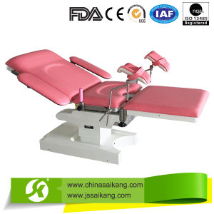 Hospital Stainless Steel Gynecology Delivery Bed pictures & photos