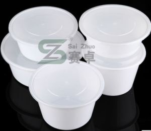 1500ml PP Big Disposable Plastic Food Bowl pictures & photos