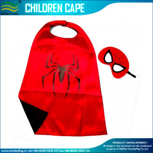 Custom Funny Festival Holiday Decoration Kid Cape (B-NF07F02038) pictures & photos