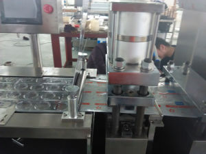Aluminum Blister Wrapping Machine Tablet Blister Packing Machine pictures & photos