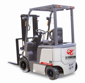 Small 1500kg AC Motor Battery Forklift Truck pictures & photos