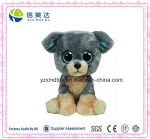 Plush Big Eyes Buddy Scraps Dog Stuffed Animal Toy pictures & photos