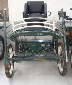 Marathon Competition Horse Carriage with Single Seat (GW-HC037-13#) pictures & photos