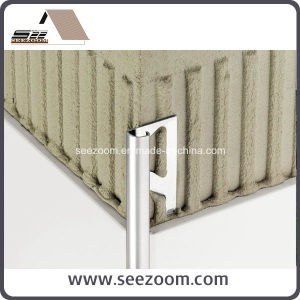 Aluminum Round Flooring Ceramic Tile Trim