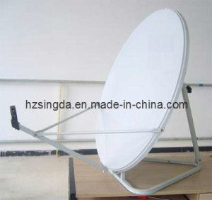Ku-Band 80cm Satellite Antenna with SGS pictures & photos