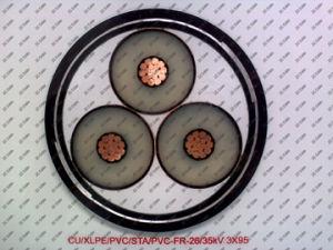 Power Cable (CU / XLPE / PVC / STA / PVC-26 / 35KV) pictures & photos