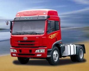 Qingdao Jiefang 3 Axles Tractor Head Weichai Engine Faw Tractor Truck