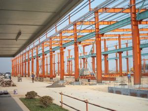Prefabricated Steel Frame Workshop (SSW-149) pictures & photos