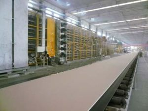Plaster Board Production Line-With Fully Automatic Level