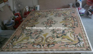 Pattern Mosaic Marble Stone Mosaic Floor Tile (ST117) pictures & photos