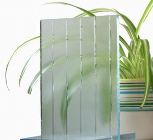 3-8mm Clear Patterned Glass with CE & ISO9001