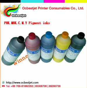 Never Clog Printhead! ! ! Refill Printing Pigment Ink for Epson Stylus PRO 7700 9700 Quality Pigment Inks (5colors)