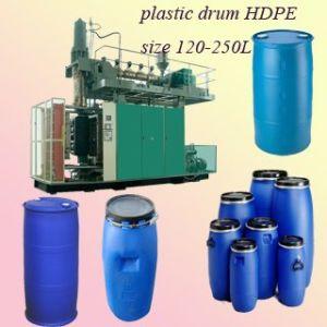 250L Double-Ring Drum Blow Molding Machine (120N)
