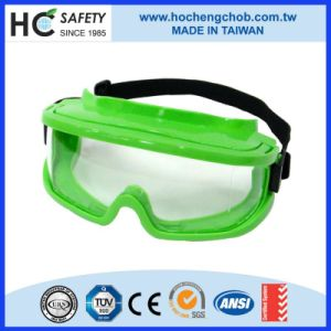 En166 Outdoor Dustproof UV Lens Disposable Safety Goggles