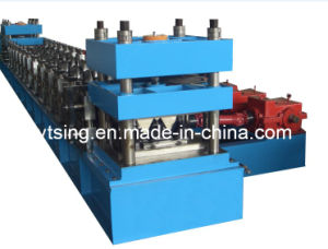 19 Stations and 22kw Auto-Stacker Metal Guard Rail Roll Forming Machine (YD-0247)