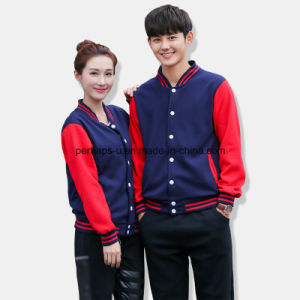 Custom High Quality Baseball Uniform Cotton Men′s Sweater pictures & photos
