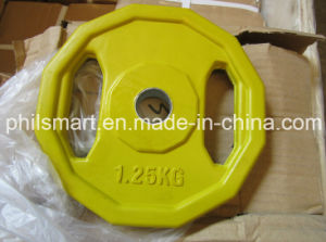 Fitness Olympic Free Weights Grip Weight Plate pictures & photos