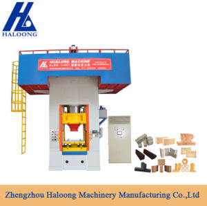 Haloong Manufacturer Worktable Size 1300*1120mm Refractory Brick Presses pictures & photos