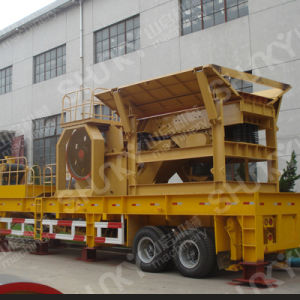 High Yield Portable Crushing Plant for Mining and Construction
