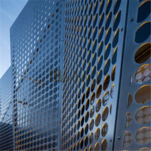 Special Made Perforated Aluminum Panel for The Expo Building in Hongkong (RNB-088) pictures & photos