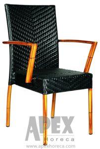 Bamboo Armchair Outdoor Furniture Garden Wicker Chair (AS1069BR) pictures & photos