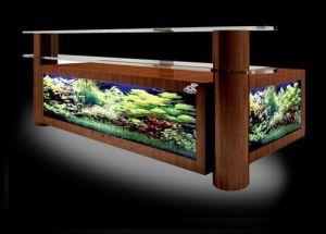 Bar Counter Aquariums, Fish Tank (1600*470*1100mm, 1800*470*1100m, 2000*500*1100mm)