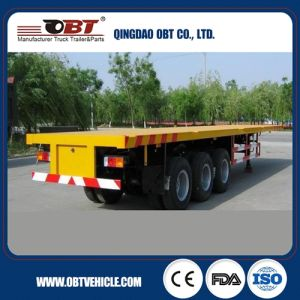 Tri-Axle 40 Feet Tractor Haulage Trailer Trailers for Heavy Goods pictures & photos