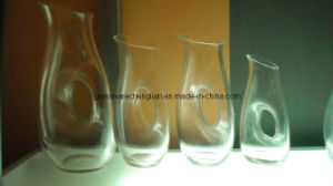 Clear Glass Pitcher /Glass Carafe/ Glass Jar (H-1324XT) pictures & photos